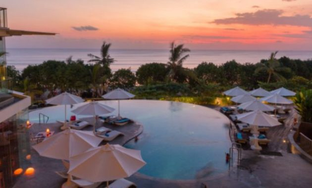 Pemandangan di sheraton Bali Kuta Resort